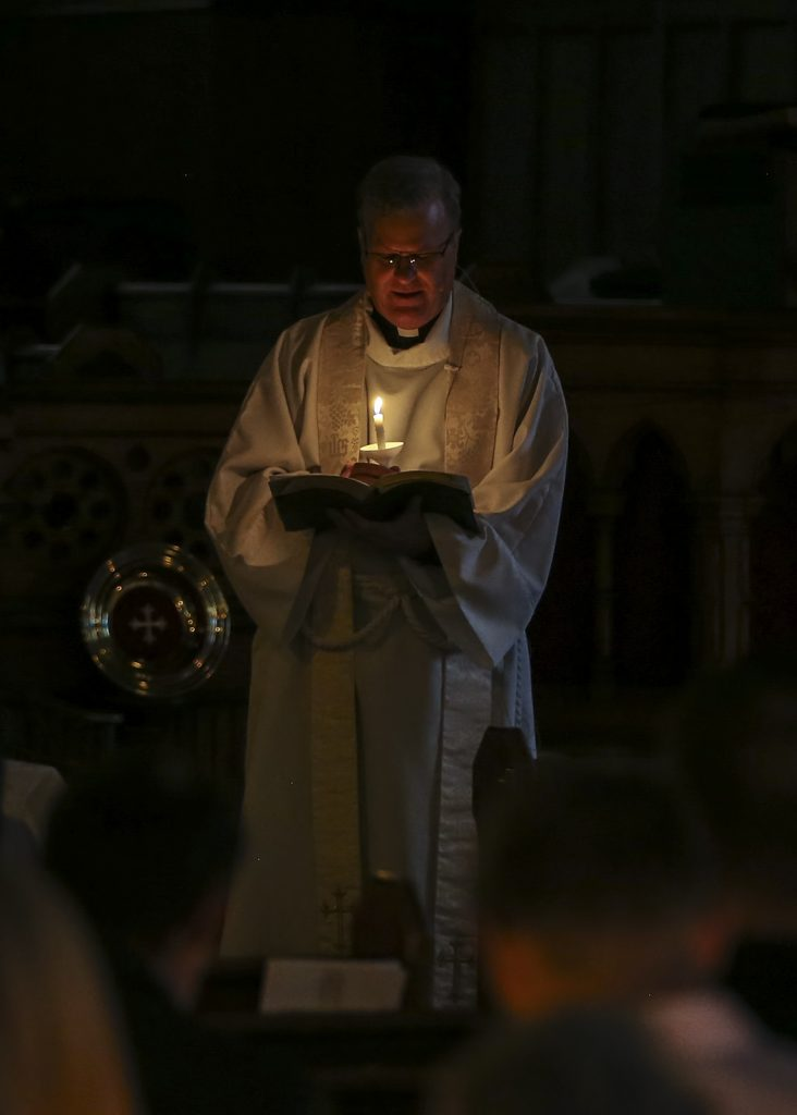 Father Veit candlelit